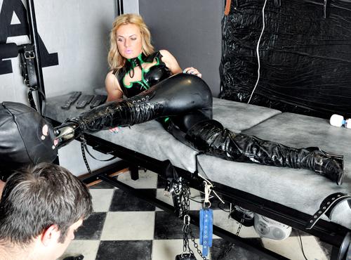 Boot shoe worship Mistress Athena Huddersfield