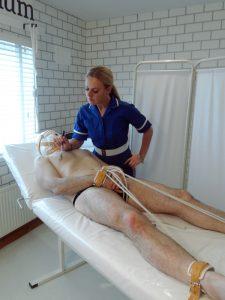 Medical nurse play Yorkshire Mistress