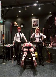 Corporal Punishment double Mistresses