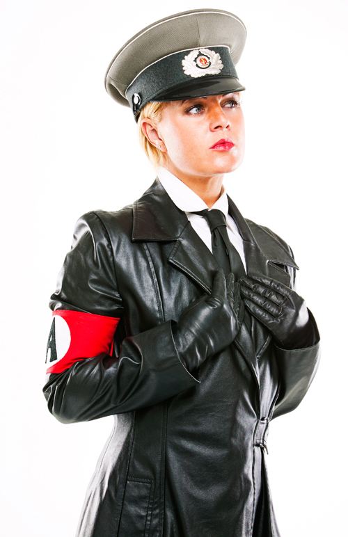 Leather Mistress Athena leather trench coat Huddersfield