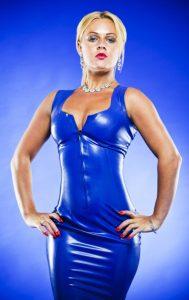 Yorkshire Mistress blue latex