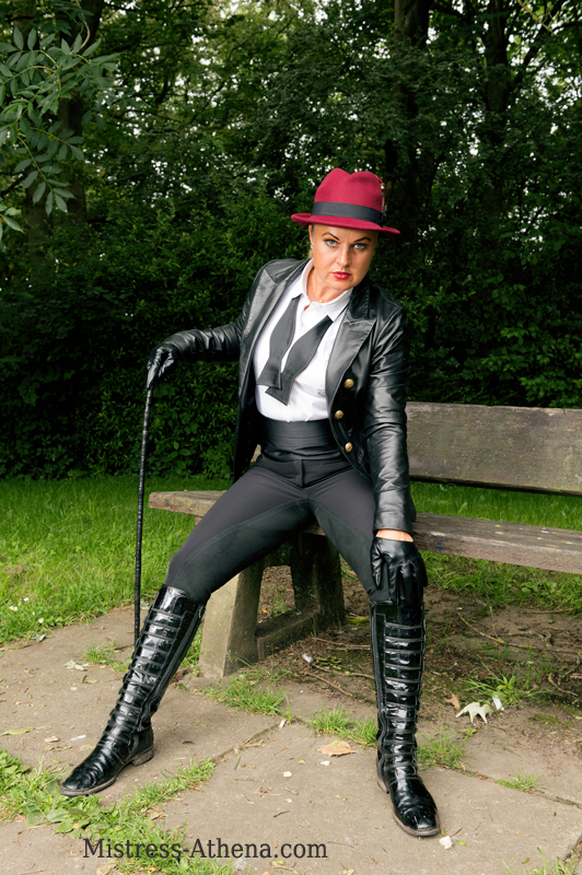 Leeds Mistress Dominatrix playing with Submissive girl