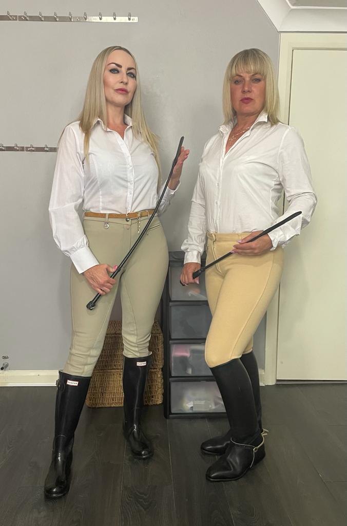 Equestrian Mistress Double Domination Huddersfield Dominatrix
